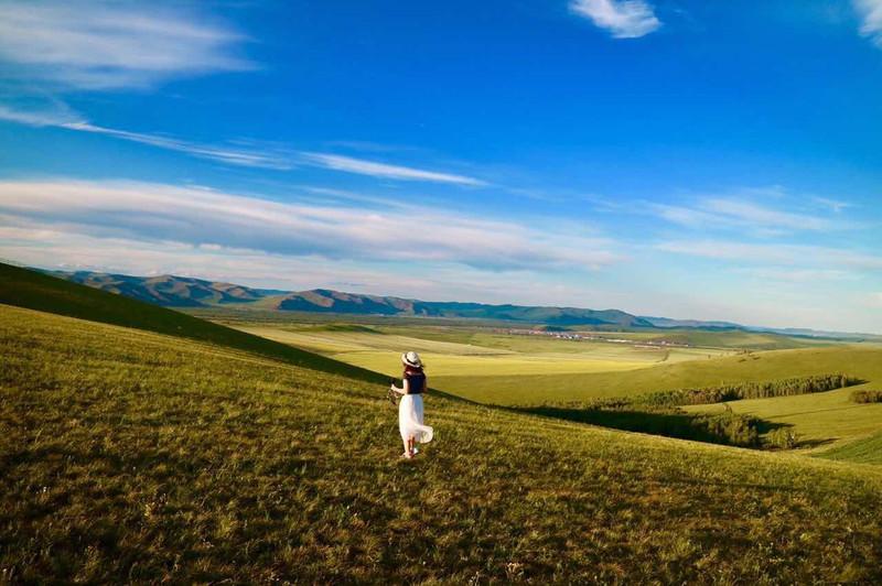 第一次开房车深入呼伦贝尔大草原,穿越大兴安岭!7天6晚,1200多公里~