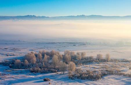 #你好,房车#新疆冬季房车自驾游--冰雪盛宴燃爆禾木