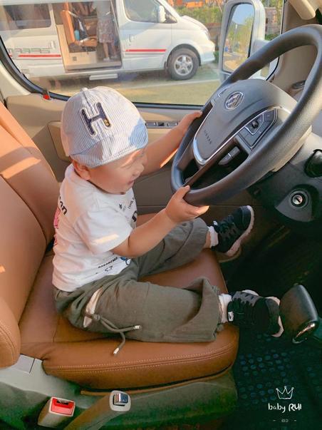 #我的房车日记#tag最小的房车司机