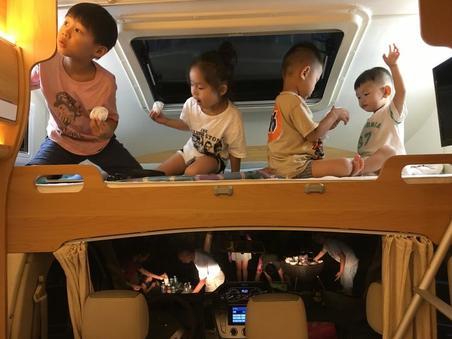 房车小司机们的烧烤趴@宁波东钱湖小隐上水房车营地